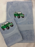 LAND ROVER PERSONALISED TOWEL SET